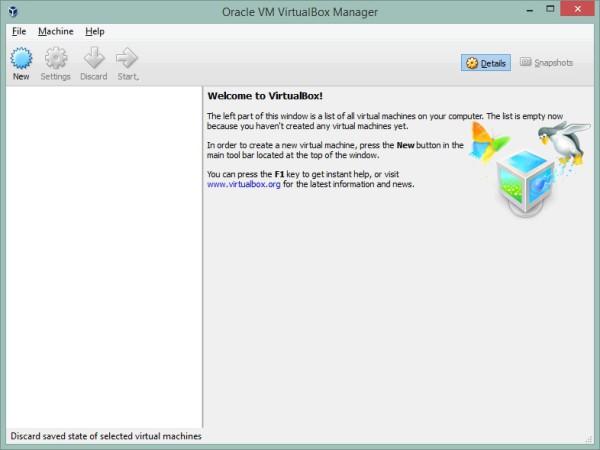 Android x86 Virtualbox installation start