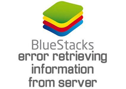 BlueStacks · Fix BlueStacks error retrieving information · WTFFIX Helper