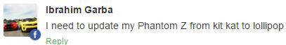 Tecno Phantom Z update