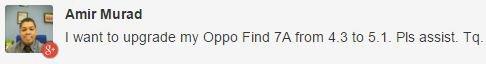 Oppo Find 7 update