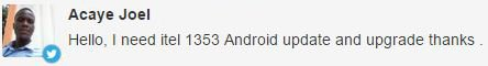 Itel IT1353 update
