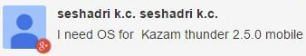 Kazam Thunder 2 update