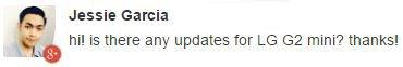 LG G2 update