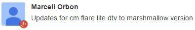 Cherry Flare Lite DTV update