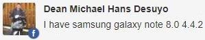 Samsung Galaxy Note 8.0 update
