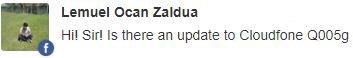 Cloudfone Q005G update
