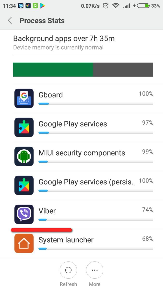 how to kill background apps in android