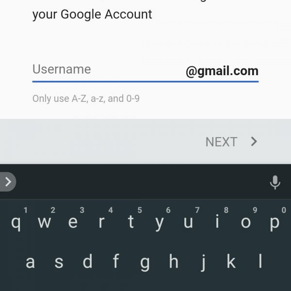 How to set up account for Google