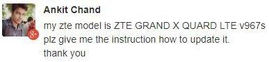 ZTE V967S update