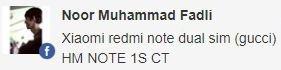 Xiaomi Redmi Note 1 4G update