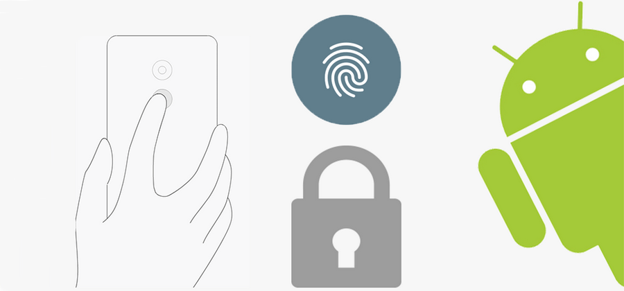 How to set fingerprint password in Android