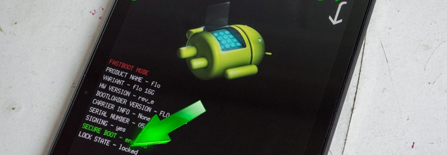 How to lock bootloader on Android