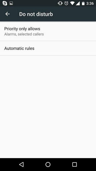 disable incoming calls on android