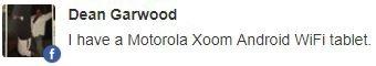 Motorola Xoom update