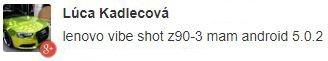 Lenovo Vibe Shot update