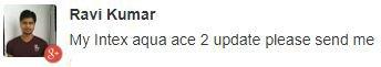 Intex Aqua Ace 2 update