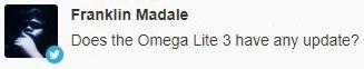 Cherry Omega Lite 3 update