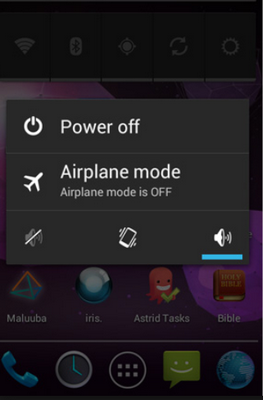how to enter safe mode on android