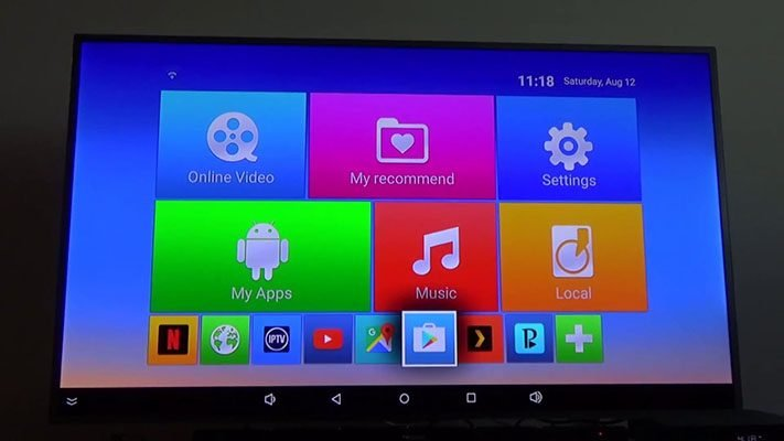 Android TV box how to use