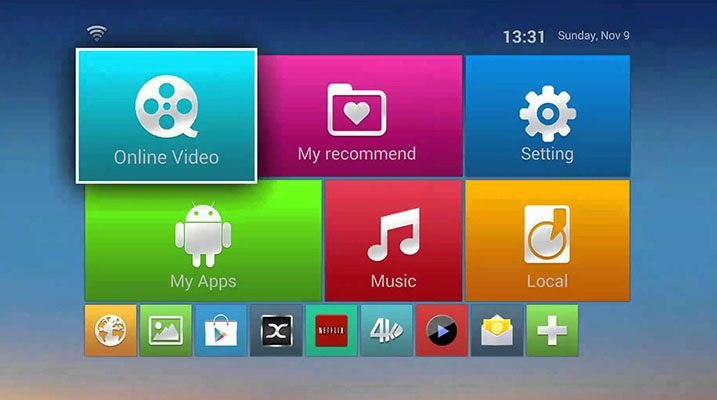 set box tv android
