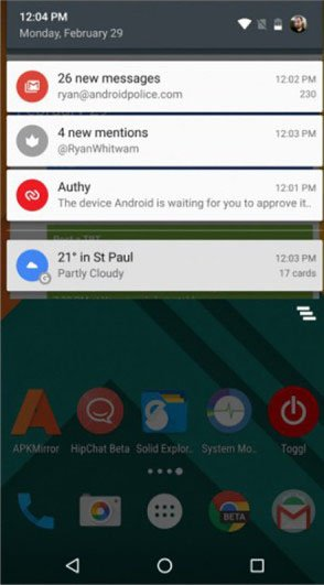 android nougat multi window