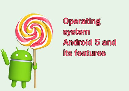 operating system android 5