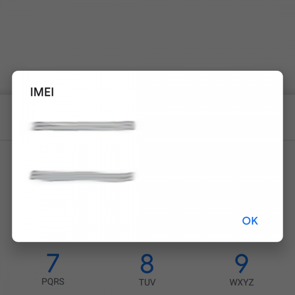 Find the IMEI number on Android