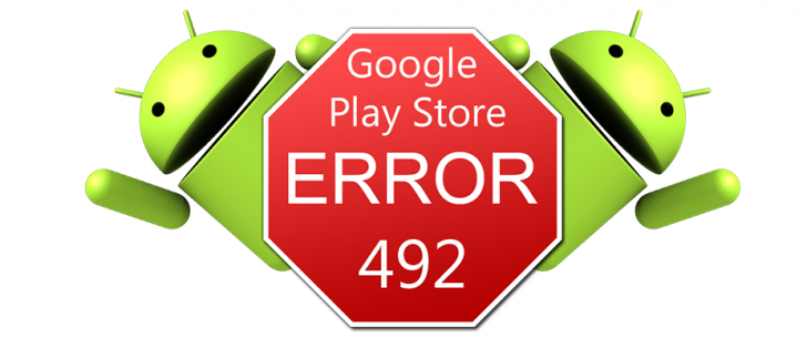 what is error code 492