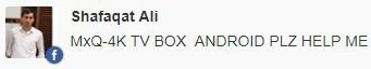 MXQ 4K TV Box update