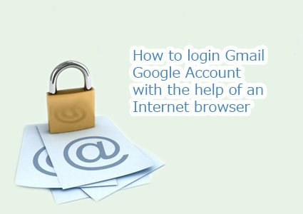 login gmail google account