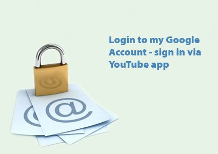 login to my google account