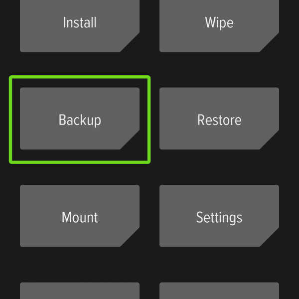 Android Backup data