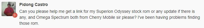 cherry mobile omega spectrum update