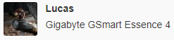 Gigabyte GSmart Essence 4 update