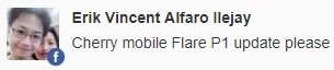 cherry mobile flare p1 update