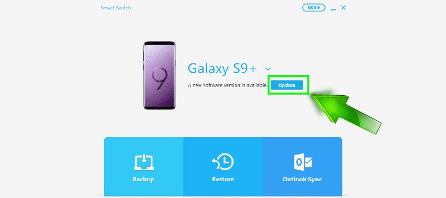 How to update Samsung smartphone or tablet