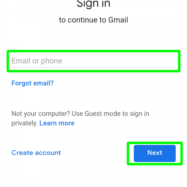 How to open Gmail