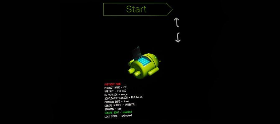 Bootloader mode