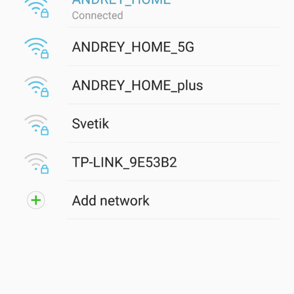 the phone does not connect to WiFi