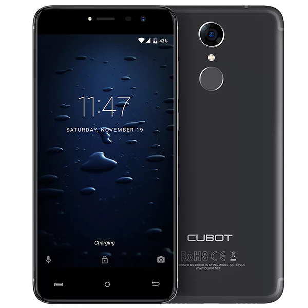 Cubot Note Plus firmware